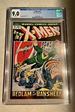 X-Men #76 CGC 9.0 White Pages!