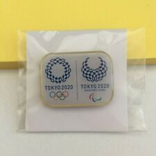 New in Pkg - 2020 Tokyo Olympics / Paralympic Games magnetic pin / button