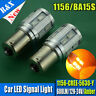 1x 5630+ CREE LED P21W 1156 BA15S DRL REVERSE BRAKE INDICATOR AMBER LIGHT 12-24V