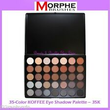 NEW Morphe Brushes 35-Color KOFFEE Eye Shadow Palette 35K FREE SHIPPING BNIB