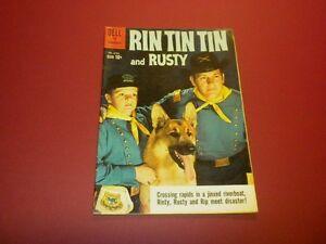 RIN TIN TIN AND RUSTY #33 Dell Comics 1960 TV western