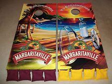 Margaritaville Corn Hole Boards - Bean Bag Toss Game