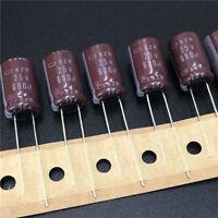 5pcs 680uF 25V 10x16mm NCC KZH 25V680uF Low Impedance Long Life Capacitor