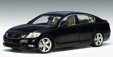 Autoart 78802 Lexus GS430 2006 Black Onyx LHD 1/18 Scale Die-cast Model Car