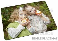 Single Personalised Photo Placemat Table Place Mats Image Logo Text Picture Gift