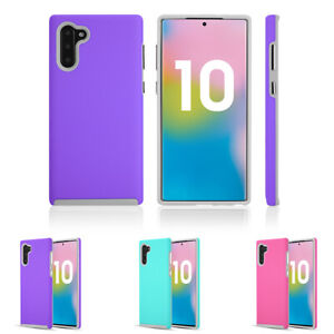 Dual Layer Hybrid Shock Proof Protective Case Cover For Samsung Galaxy Note 10