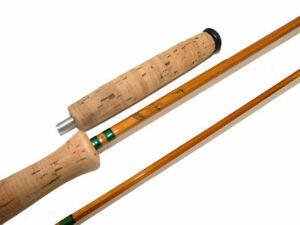 """Foster Bros of Ashbourne The Acme 9' 6"""" line #7  fly rod with butt extension"""
