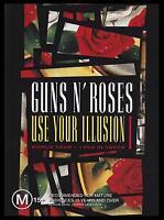 GUNS N' ROSES - USE YOUR ILLUSION I DVD ~ 1992 WORLD TOUR ~ SLASH METAL 1  *NEW*