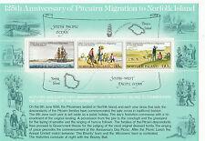 (37688) Norfolk Island Minisheet Pitcairn Migration 125 Years MNH U/M Mint