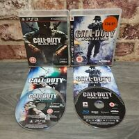 COD Call of Duty World at War & Black Ops - Game Bundle Sony Playstation 3 PS3