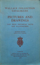 1968 – WALLACE COLLECTION CATALOGUES. PICTURES AND DRAWINGS – PITTURA DISEGNO