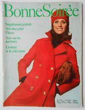 ►BONNE SOIREE 2496 - 1969 - MIREILLE MATHIEU - BRIGITTE BARDOT - BAUDRIER