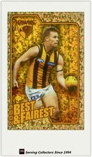 2010 AFL Herald Sun Trading Cards Best & Fairest BF8 Sam Mitchell (Hawthorn)