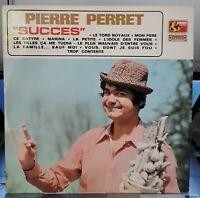 *** Rare LP 33T PIERRE PERRET Pierre Perret  Succès  1970 MM. 25 ***  NM / MINT