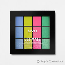 "1 NYX Ultimate Multi Finish Shadow Palette "" USP05 - Electric ""*Joy's cosmetics*"