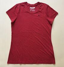 WOMEN'S NIKE TOP T-SHIRT SPORT RED SIZE UK M (34) RRP £35
