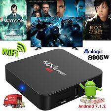 2018 MXQ PRO Android 7.1.2 Quad core Amlogic S905W TV BOX WIFI 4K Media player
