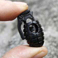 Seilklemme Schnur-Verschluss Schnürsenkel Handgranate Schnalle Stopper X5D7