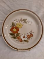 "Mountain Wood Collection Stoneware Japan Trellis Blossom LRG 12-1/4"" Platter EUC"