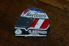 GERHARD BERGER - MARLBORO - CASQUE - Pin's / Pins !!!