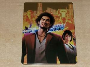 Yakuza Like a Dragon Limited Edition Steelbook Case Only G2 (NO GAME)