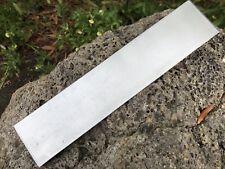 HUNTEX German Made 420c Steel 9.6 Inch Long Polished Billet Strip Knife Making