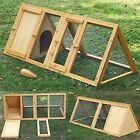 in legno triangolare CONIGLIERA e CORSA GABBIA porcellino d' INDIA FURETTO