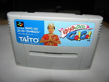 Yuyu no Quiz de Go Go Super Famicom SFC SNES Japan import
