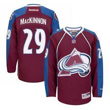 Reebok Nathan MacKinnon Colorado Avalanche Burgundy 2015-16 Home Premier  Jersey XL 09a058279
