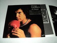 BERNARD LAVILLIERS 33 TOURS FRANCE 15e ROUND ***AVEC STICKER***
