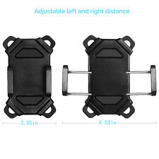 US Bicycle Motorcycle Cell Phone GPS Holder Cradle with Rubber Strap 360 Rotate
