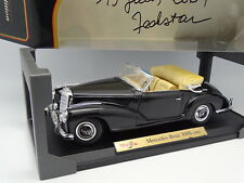 Maisto 1/18 - Mercedes 300 S 1955 Negra