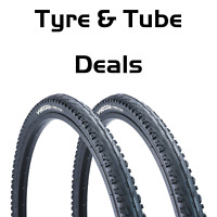 700 x 38c Hybrid Bike Tyre Vandorm Commuting Fast Tyre & Tube DEAL OPTIONS