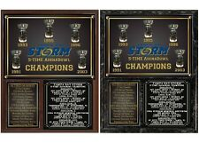 Tampa Bay Storm 5-Time ArenaBowl Champions Photo Plaque