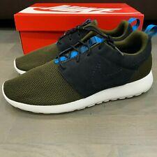 New Nike Roshe Run One Men's Dark Loden Black White 511881 303 Rosherun
