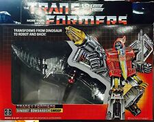 BRAND NEW TRANSFORMERS AUTOBOTS  DINOBOT SWOOP G1 WITH BOX SET K.O VER