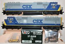 CSX 734 SD70MAC YN2 Bright Future  Kato HO  37-6408 F26.10