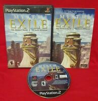 Myst III Exile - Playstation 2 PS2 Rare Game Complete Tested Works