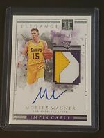 2018 IMPECCABLE ELEGANCE Moritz Wagner Auto RC RUE RPA /99 Sick Patch!!