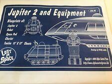 Lost In Space Blueprints Set Sealed package 12 sheets Robot Jupiter 2 Chariot