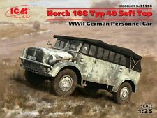 HORCH 108 TYP 40 SOFT TOP (WEHRMACHT MKGS) 1/35 ICM BRAND NEW