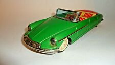 "1950'S Citroen Ds19 Convertible 8 1/2"" By Bandai Of Japan"