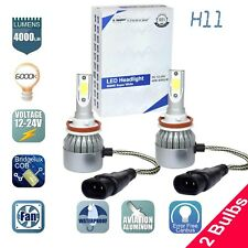 🔥🔥 GP Thunder Cree LED Headlight H11 6000K Low Beam Fog DRL Bulb White 🔥🔥🔥