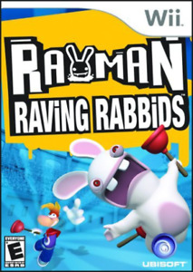 Rayman Raving Rabbids Wii (US IMPORT) GAME NEW