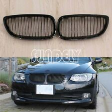 Gloss  Kidney Sport Grilles Grill For BMW E92 E93 Pre-LCI 3 Series Coupe M3 FAST