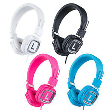 Kanen Headphones On Ear Adjustable Foldable with Mic for SmartPhones Tablets
