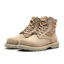 Mens Lace up High Top Hiking Work Combat Tactical Ankle Boots work Desert shoes