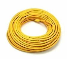 100 ft. Yellow High Quality Cat6 550MHz UTP RJ45 Ethernet Bare Copper Network Ca