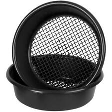 More details for wham 35cm garden sieve black - ideal for sifting soil to remove unwanted debris