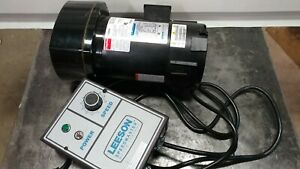 DAYTON 6Z406B with Leeson Speedmaster Motor Controller
